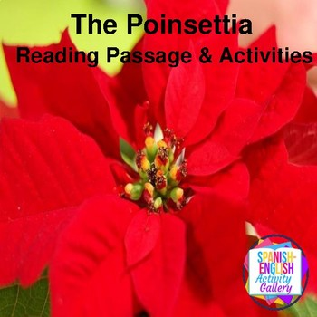 Poinsettia Reading Passage and Activities