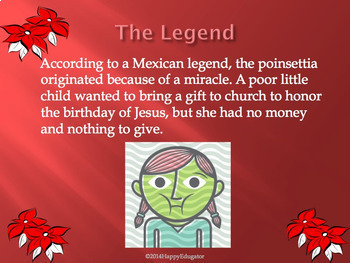 Poinsettias - Christmas Symbol PowerPoint