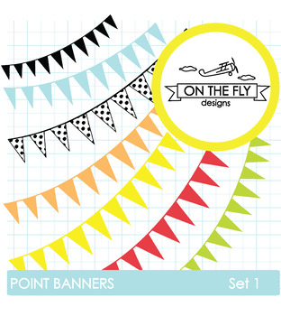 Point Banners Set 1