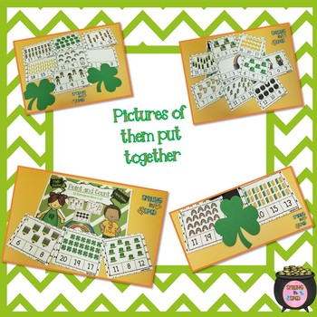 Point and Count Clip Cards (March Theme)