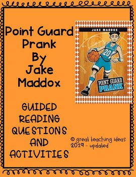 Point Guard Prank by Jake Maddox - Guided Reading Question