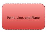 Point, Line, Plane Foldable
