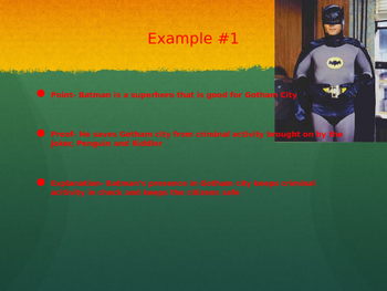 Point Proof Explanation powerpoint