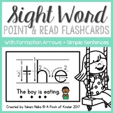 Point & Read: Sight Word Flash Cards with Simple Sentences