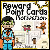 Point Reward Cards - Positive Behavior Motivation System