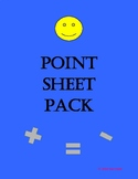 Point Sheet Pack