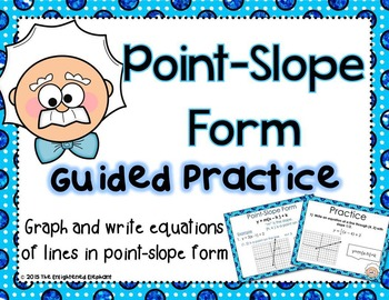 Point Slope Form Guided Practice PowerPoint