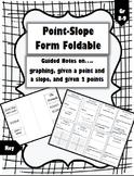 Point-Slope Formula Foldable