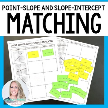 Point Slope And Slope Intercept Form Activity By Lindsay Perro Tpt