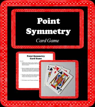 Point Symmetry Card Game; Geometry: Transformations
