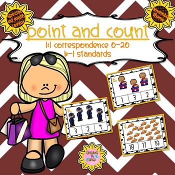 Point and Count Clip Cards (November Theme)