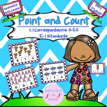 Point and Count (May Theme)- Math Center