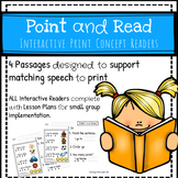 Point and Read: Interactive Readers for Print Concepts