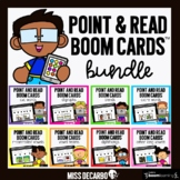 Point and Read Phonics Boom Cards BUNDLE Distance Learning