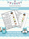 Point and Read- Sight Word Fluency