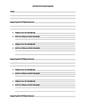 Point by Point Outline for Writing Informational Essays