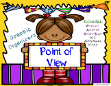 Point of View Graphic Organizers with Anchor Chart Poster/Sign