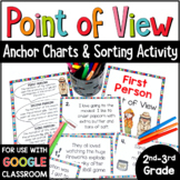 Point of View Practice - Sorting Activity for 1st, 2nd, and 3rd Person POV