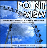 Point of View {1st, 2nd, 3rd Person}: Notes, Games, and As