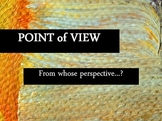 Point of View (1st, 2nd, 3rd) with examples