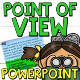 First Person, Second Person, Third Person Point of View PowerPoint Activity