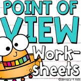 First, Second, and Third Person - Point of View Worksheets