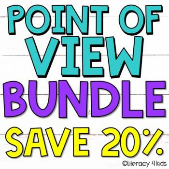 First Person, Second Person, Third Person Point of View Bundle