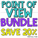 First Person, Second Person, Third Person Point of View Worksheets & More Bundle