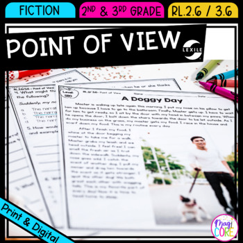 Point of View- 2nd & 3rd Grade- RL.2.6 & RL.3.6