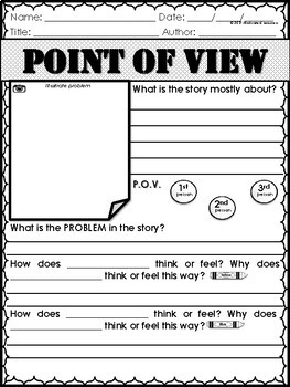 Point of View Graphic Organizers