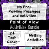 Point of View Activities Bundle, Author's Perspective, Rea