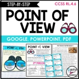 Point of View Activities Point of View Task Cards | Distan