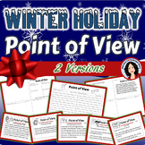 Point of View Activity for Winter and December Holidays with Task Card