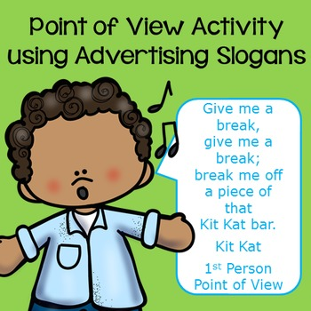 Point of View Activity using Advertising Slogans