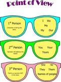 Point of View Anchor Chart and Worksheet