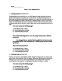 Point of View Assessment 2 - Common Core Standard RL6