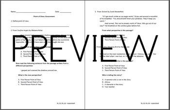 Point of View Assessment