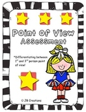 Point of View Assessment for 4th & 5th grades