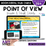Point of View BOOM Cards with Video lesson - Distance Learning