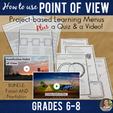 Point of View BUNDLE:  Fiction & Nonfiction Project Based