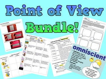 Point of View BUNDLE! -PowerPoint, Notes, Worksheets, Acti
