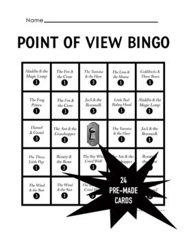 Point of View Bingo