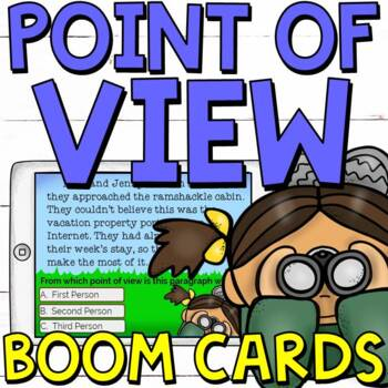 Point of View Boom Cards (20 digital task cards)