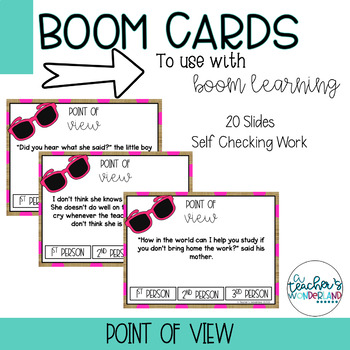 Point of View Boom Cards [For Boom Learning]