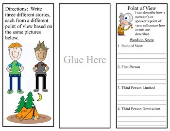 Point of View Bundle for Interactive Reading Notebooks