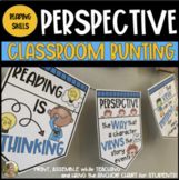 Perspective Bunting {Anchor Chart Posters}  for ELA First