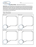 Point of View - Character Discussion Worksheet