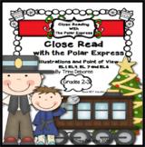 Polar Express Activities: Christmas Close Read
