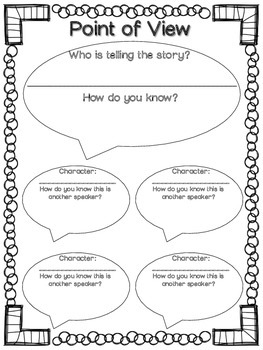 Point of View Common Core Aligned FREEBIE