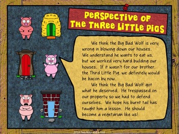 Comparing Points of View Of Fairy Tale Characters PowerPoint